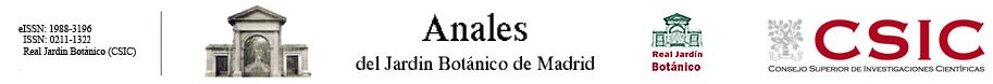 Provisional catalogue of the flora of san ignacio de for Anales del jardin botanico de madrid