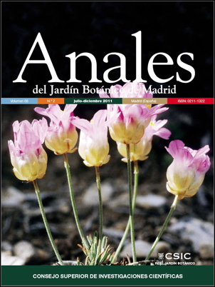 Cover image: Armeria filicaulis subsp. trevenqueana (Plumbaginaceae) is a local endemic plant restricted to two dolomitic spots (cerro Trevenque, agujas del Dílar) in the predominantly siliceous Sierra Nevada massif (Granada, Southern Spain). It is one of